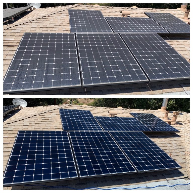 solar panel cleaning san diego